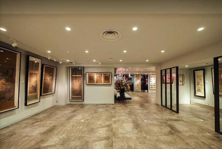 本社ビルの展示スペース1