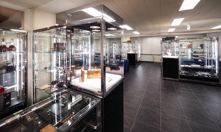 本社ビルの展示スペース2