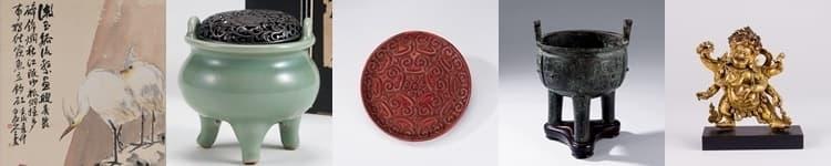 中国の美術品・骨董品の買取ジャンル一覧