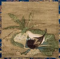楊瑗(伝)「茄子蓮房図」掛軸