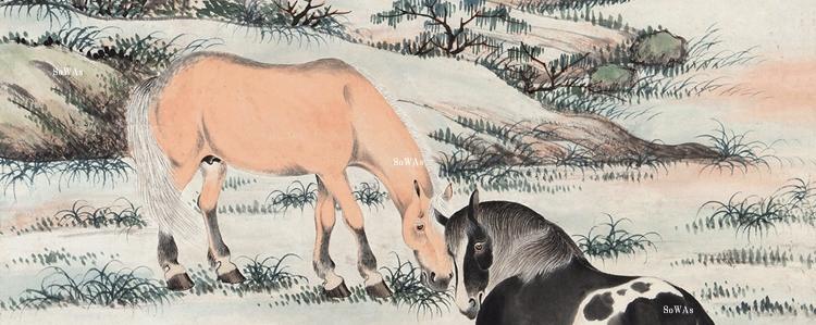 趙叔孺(ちょうしゅくじゅ)の書画作品