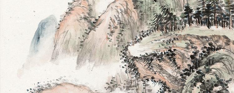 趙雲壑(ちょううんがく)の書画作品
