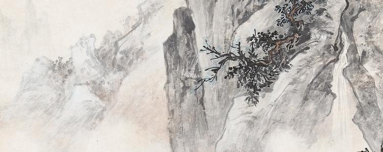 朱梅邨(しゅばいそん)の書画作品
