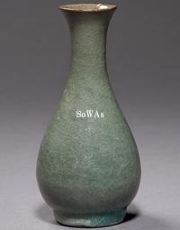宋 龍泉窯官式膽瓶
