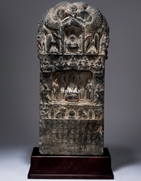 唐 石彫佛龕