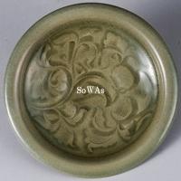 北宋 耀州窯刻花皿