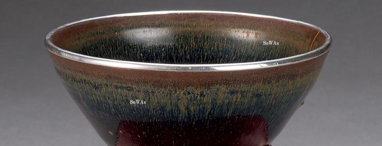 中国骨董品:建窯の天目茶碗