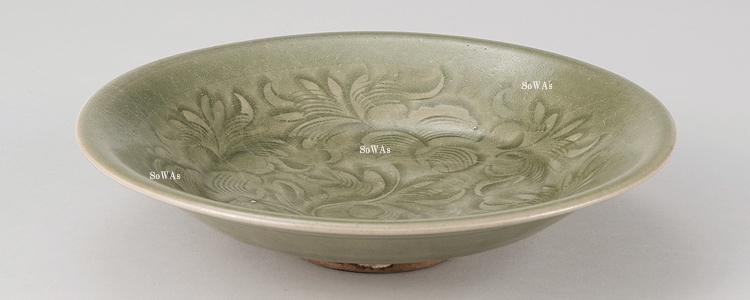 中国骨董品:耀州窯の青磁