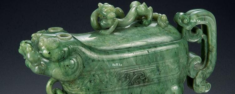 中国骨董品の翡翠