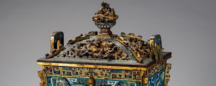 中国骨董品の琺瑯