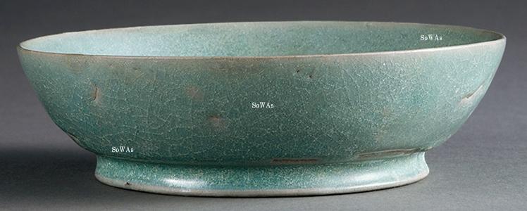 中国骨董品:汝官窯の青磁