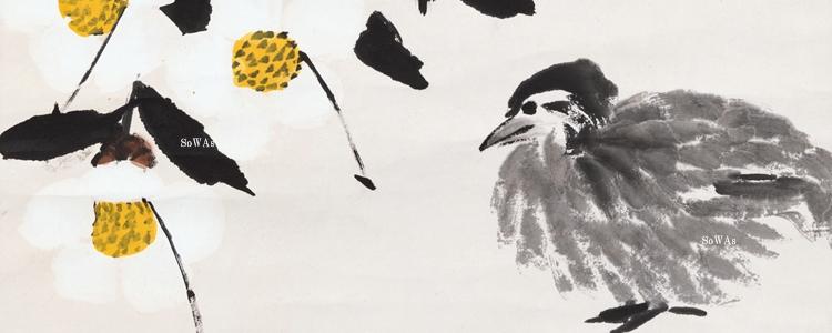 中国美術の花鳥画