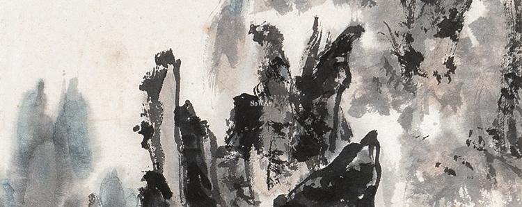 中国美術の山水画