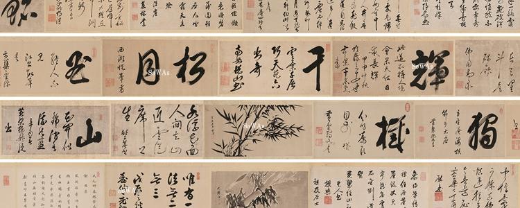 中国の禅画・墨跡
